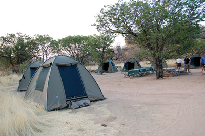 Southern Africa camp
