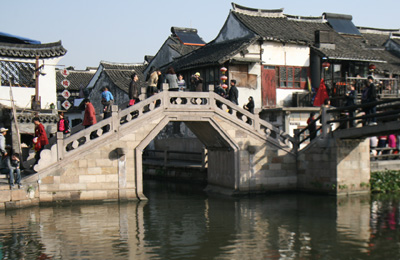 China xitang bridge