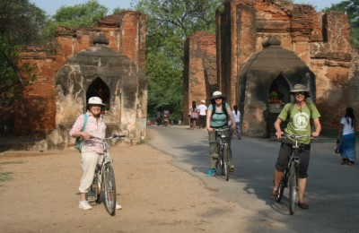 myanmar bagan cycling