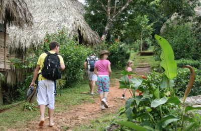Panama Embera peoples hike