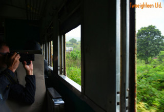 Travel by train in Myanmar