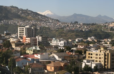 ecuador quito city view