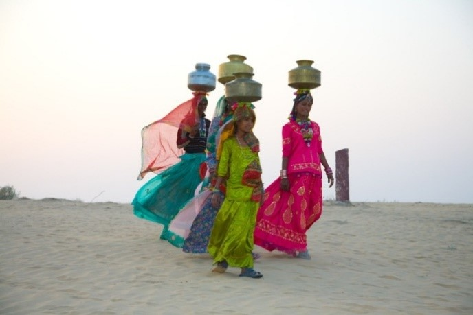 Rajasthan water carriers